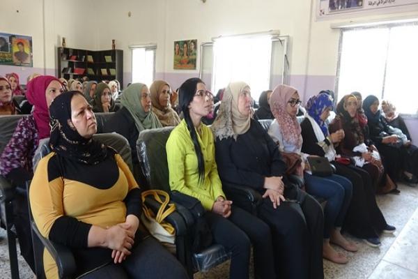 اجتماع تعريفي بمبادئ مجلس المرأة السورية في الرقة