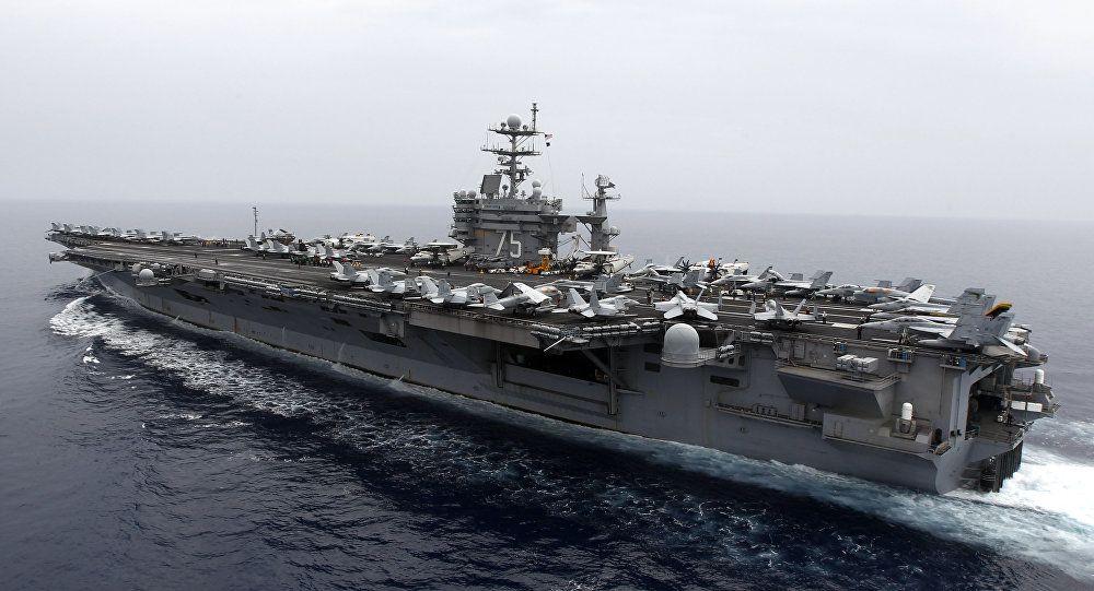 حاملة طائرات أمريكية متوجهة إلى قبالة السواحل السورية