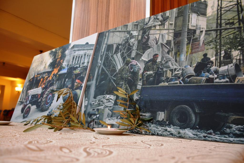 معرض للصور يظهر انتهاكات الاحتلال التركي في عفرين