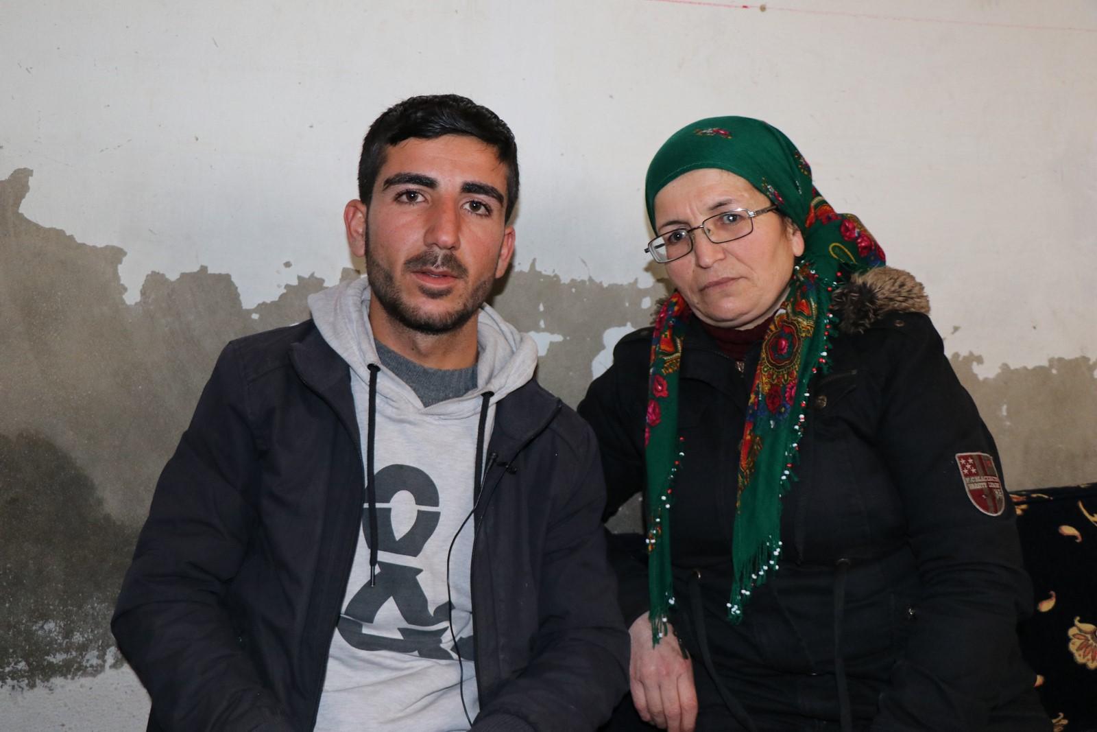 قاتلت بجانب ابنها وكان همها الاطمئنان على سلامة المقاتلين