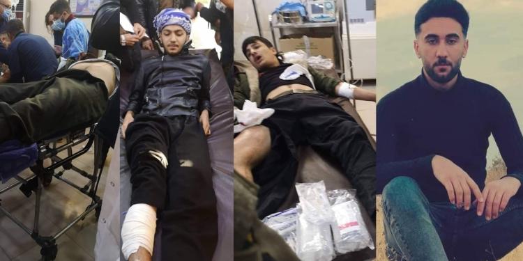 عفية #بلاسخارت تدين العنف في كردستان ولم تضع توقيعها على البيان !!!ومراسلنا: مقتل عنصر من البشمركة في بنجوين