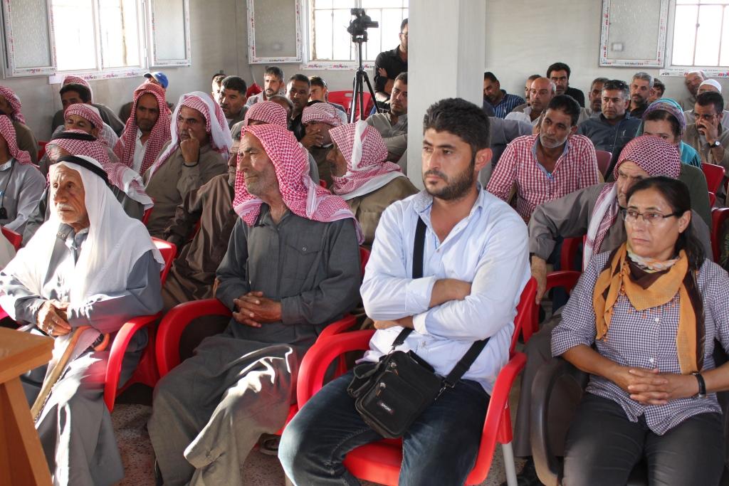 سوريا المستقبل يعرّف أهالي قرية بمنبج بمبادئه وأهدافه