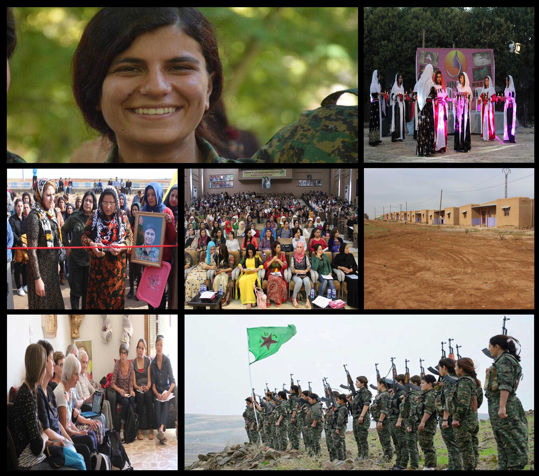 انتصارات المرأة في شمال سوريا طرزت حروفاً من الذهب في صفحات التاريخ