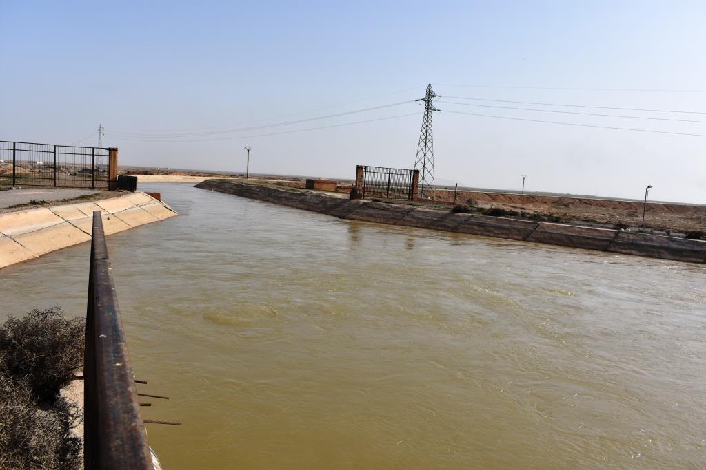 لجنة الزراعة تأهيل محطتين لضخ المياه في ريف دير الزور