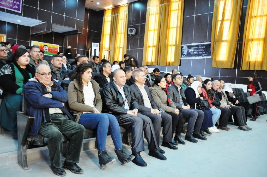 انطلاق الكونفرانس الثالث لاتحاد مثقفي كوباني