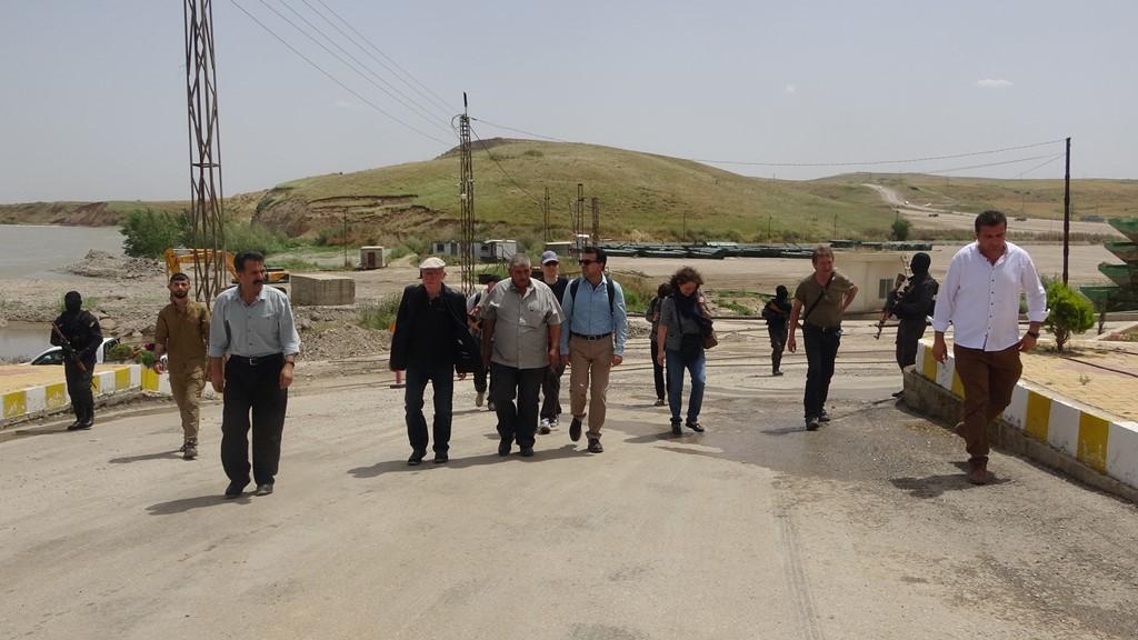 وفد أوربي يصل إلى شمال سوريا