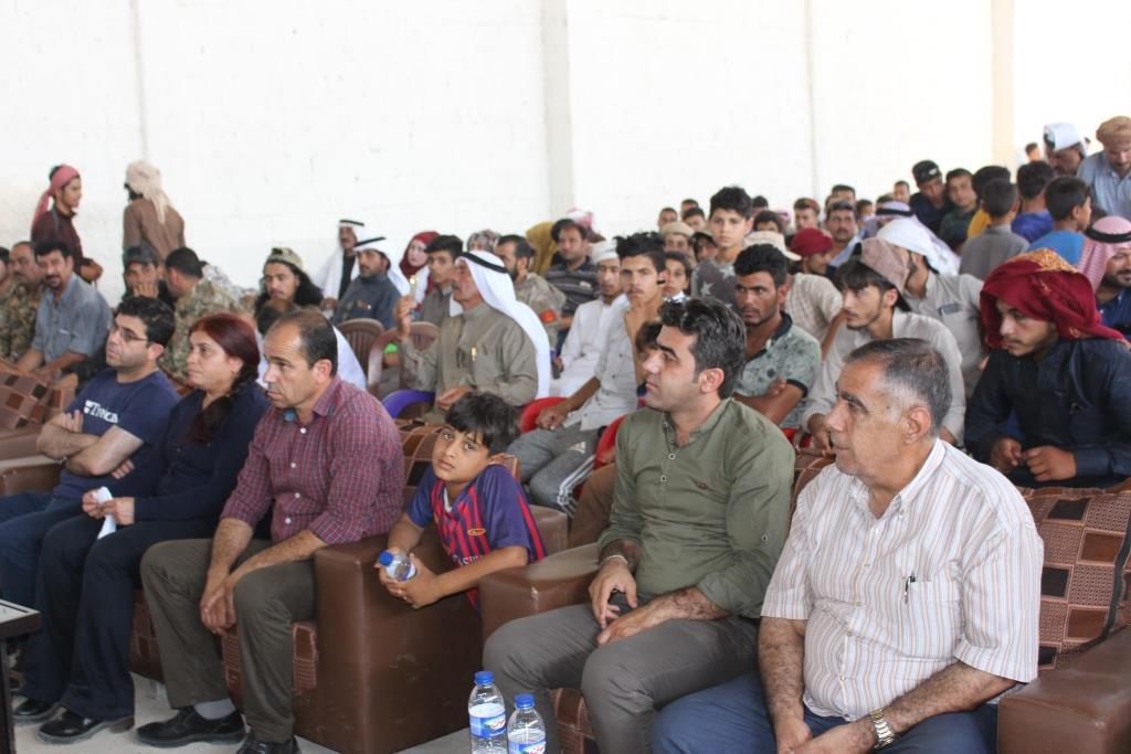 افتتاح مركز لحركة الثقافة والفن في بلدة جزعة