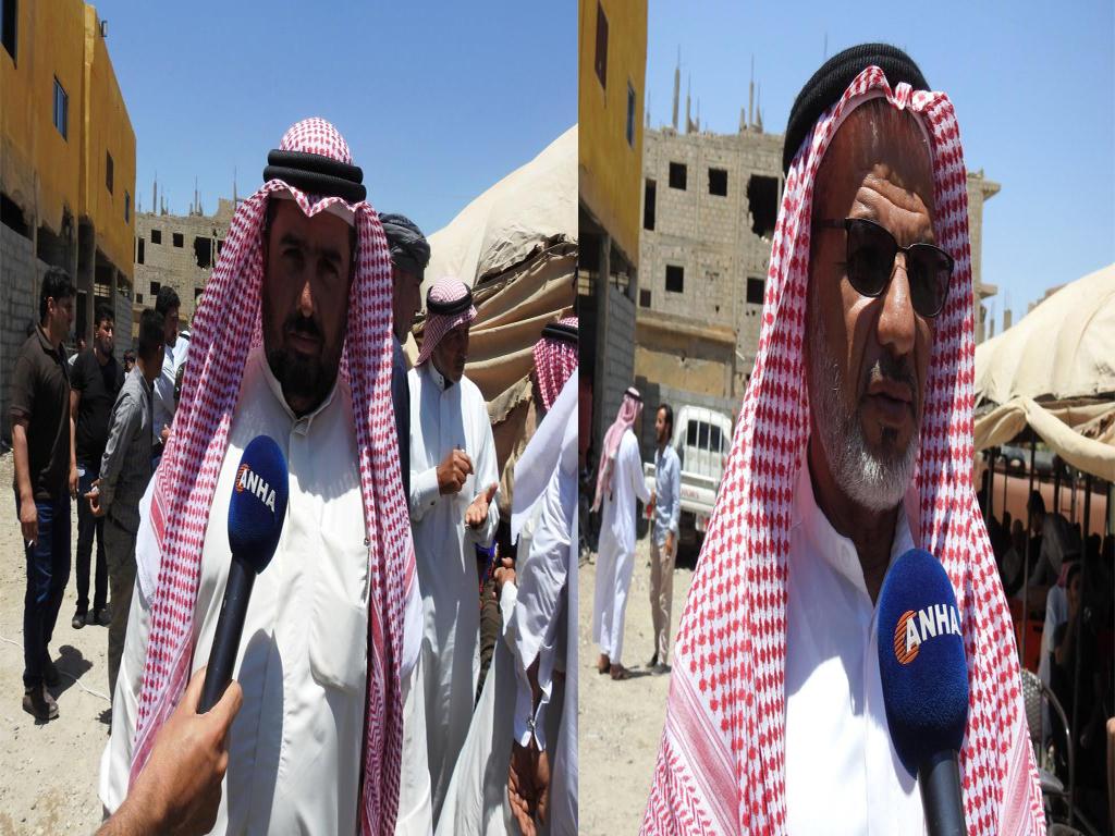 شيوخ عشائر هجين: اجتماعنا مع مسد له نتائج إيجابية تهم جميع أبناء المنطقة