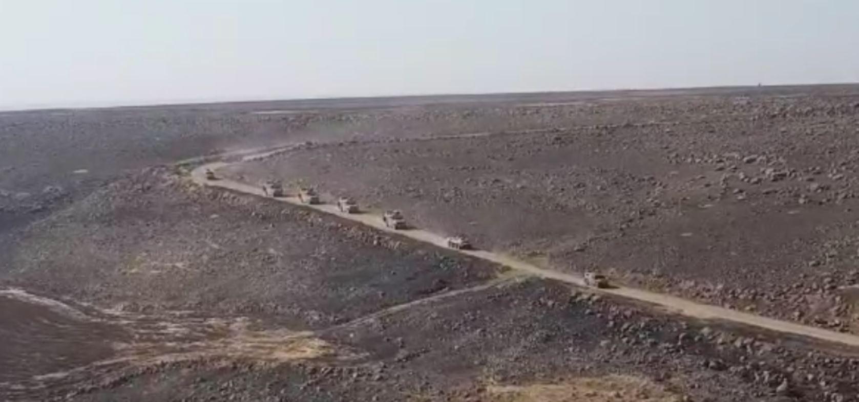 シリア・アラブの春 顛末記:最新シリア情勢ロシア軍の車列がハサカ県のカーミシュリー国際空港に、米軍の車列がカーミシュリー市近郊のハイムー村とカフターニーヤ市に到着(2019年11月16日)