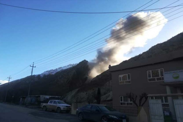 طائرات تركية تقصف سفح جبل قنديل