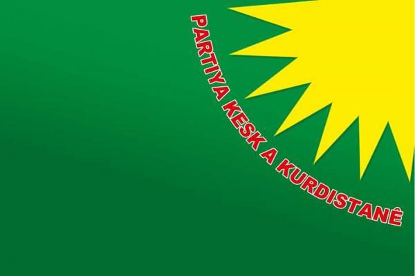 حزب الخضر الكردستاني: 19 تموز هي ثورة بناء الانسان الثوري والديمقراطي