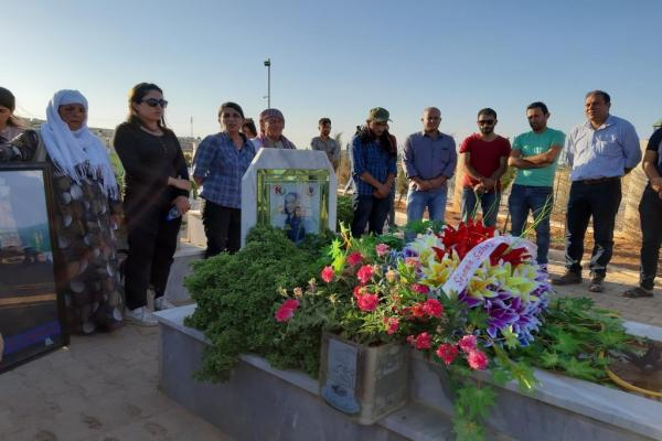 إحياء الذكرى السنوية الثالثة لاستشهاد الصحفي مصطفى محمد في كوباني