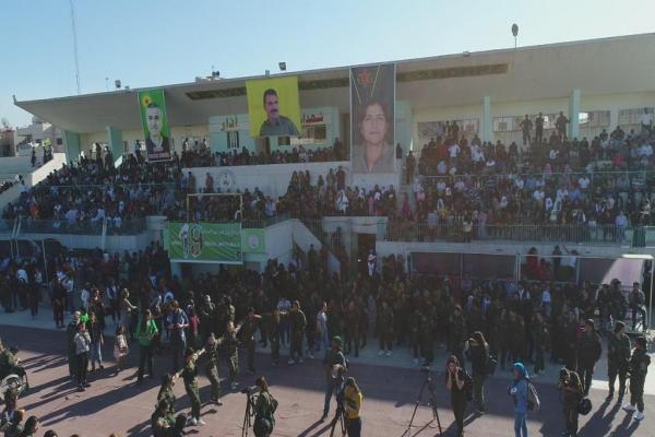 قامشلو...انطلاق فعاليات احتفالية إحياء الذكرى الـ7 على انطلاقة ثورة روج آفا