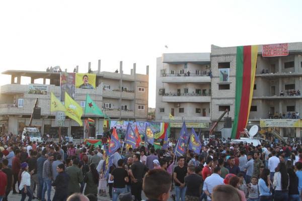 كوباني تحتفل بالذكرى السابعة لثورة 19 تموز