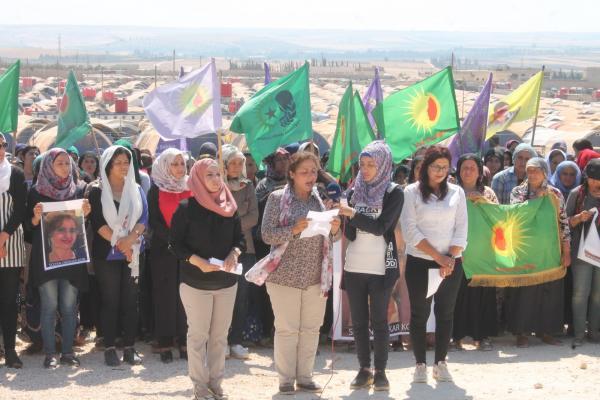 عقب قتل سوزان ديركريكور مؤتمر ستار يدعو المجتمع الدولي لمحاسبة تركيا