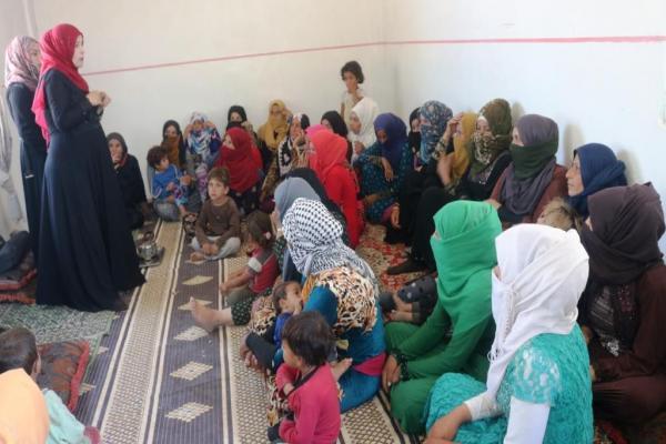 إدارة المرأة في دير الزور تبدأ حملة توعوية للحد من زواج القاصرات