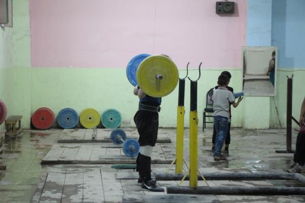 الاتحاد الرياضي في منبج يعمل على تطوير رياضة رفع الأثقال