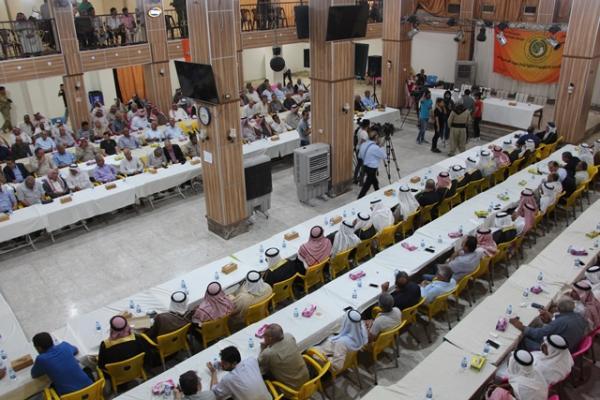 انطلاق ملتقى حواري لشيوخ ووجهاء عشائر إقليم الجزيرة
