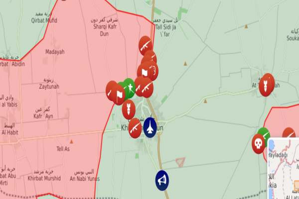 قوات النظام تقتحم مدينة خان شيخون