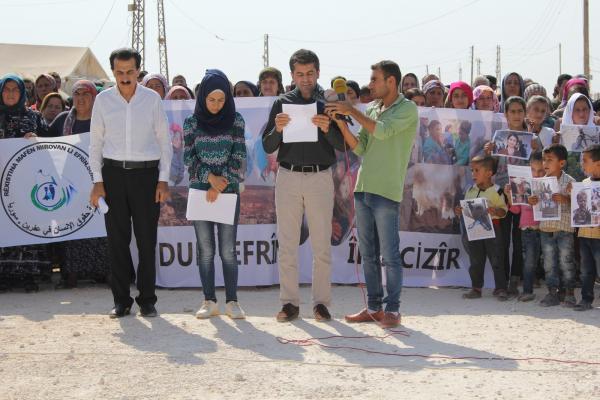 منظمة حقوق الإنسان تدين مجازر الاحتلال التركي بحق المدنيين شمال وشرق سوريا