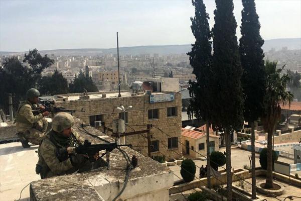 بالتزامن مع مجازره في شمال وشرق سوريا تستمر انتهاكات الاحتلال التركي في عفرين