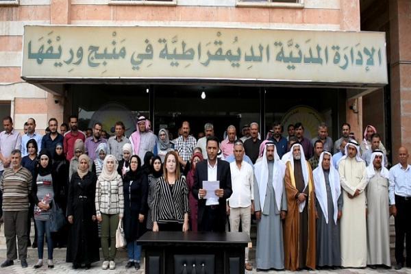 إدارة منبج: الحل في سوريا لن يكون إلا عبر حوار السوري- السوري