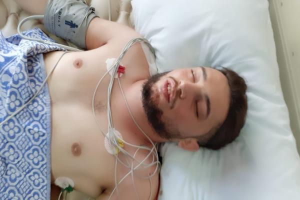 استشهاد عضو هيئة الصحة هايل الصالح إثر القصف التركي على سريه كانيه-تم التحديث