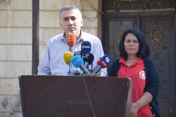 هيئة الصحة: قصف الاحتلال التركي يتسبب باستشهاد 218 مدنياً بينهم أطباء