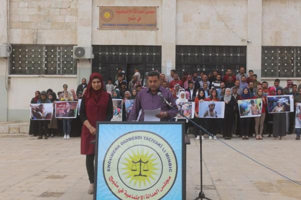 مجلس العدالة في منبج: تركيا ارتكبت جرائم حرب وعلى المجتمع الدولي التدخل وإيقاف مجازرها