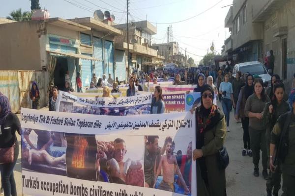 من عامودا: لا للاحتلال التركي