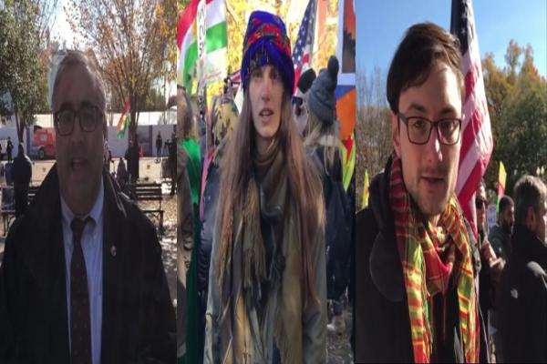 أمريكيون وأرمن: نقف مع مقاومة شمال وشرق سوريا