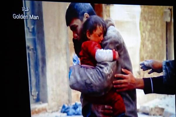 عرض فلم وثائقي في الطبقة عن انتهاكات الاحتلال التركي ومرتزقته