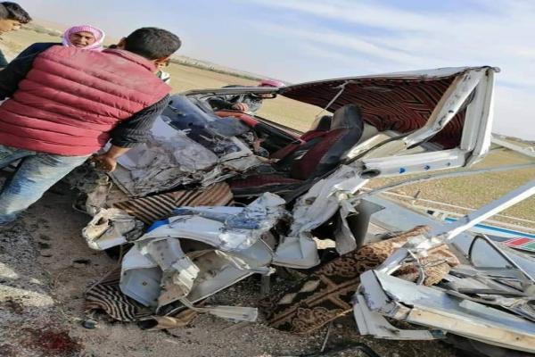 حادث سير بين مصفحة روسية وسيارة مدنية يودي بحياة 3 نساء