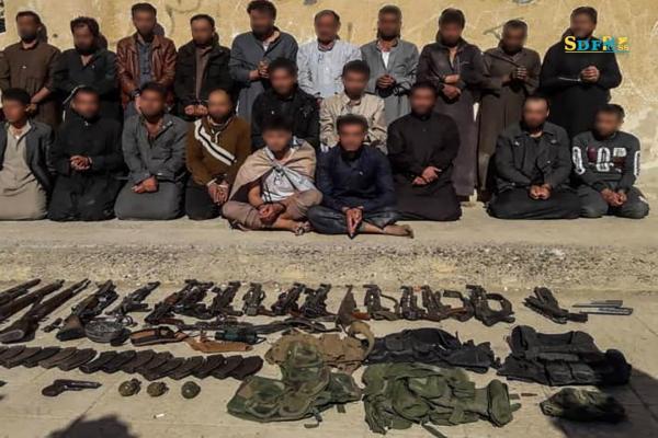 القبض على 25 من خلايا داعش بينهم مسؤول الأسرى