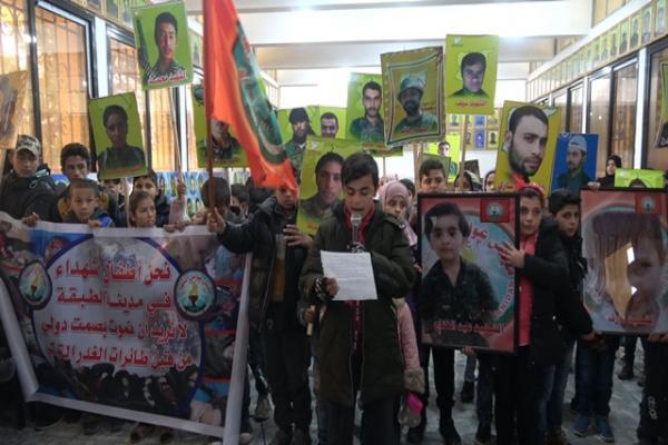 أبناء الشهداء في الطبقة: الاحتلال التركي يقتلنا بدم بارد أمام مرأى الجميع