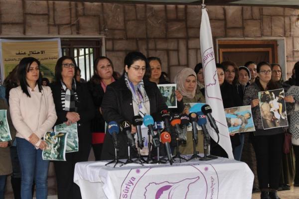 مجلس المرأة السورية يطالب المجتمع الدولي بمحاسبة أردوغان وتقديمه للمحاكمة