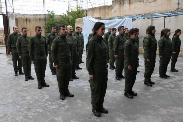 تخريج الدورة الثالثة لقوى الأمن الداخلي في حلب