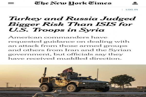 صحيفة: استراتيجية أمريكية جديدة.. تركيا وروسيا وإيران أخطر من داعش