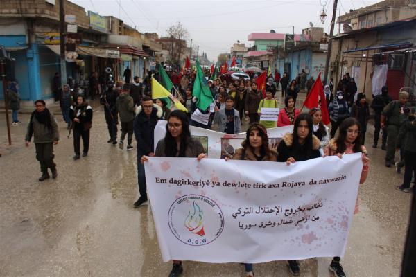 حركة الشبيبة الثورية تطالب كافة الحركات الشبابية للانضمام لصفوف وحدات الحماية