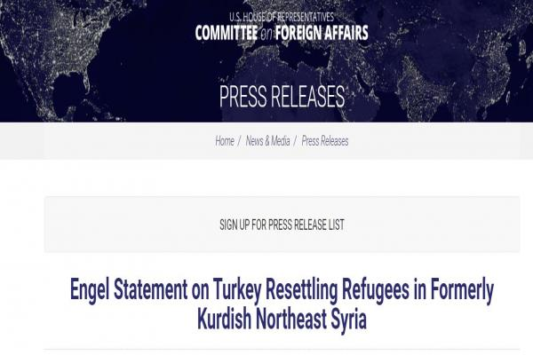 سيناتور أمريكي: اردوغان يمارس التطهير العرقي ضد الكرد ويهدد أمن المنطقة