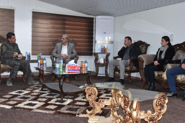 مظلوم عبدي والاتحاد السرياني يناقشان مستجدات المنطقة