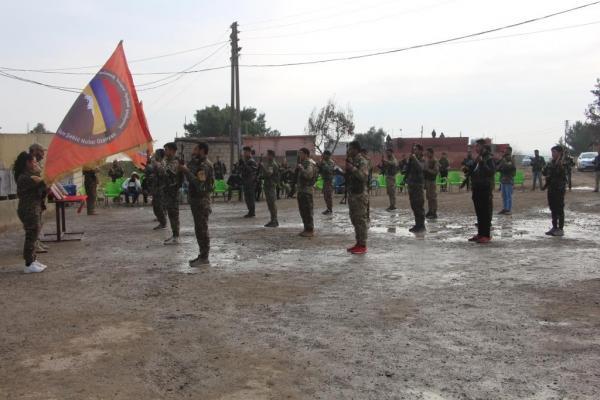كتيبة نوبار أوزانيان للمقاتلين الأرمن تستذكر هرانت دينك وساكينة جانسيز ورفيقاتها