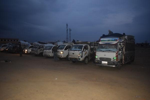 إدارة مخيم الهول تخرج الدفعة الـ 11 من أهالي دير الزور