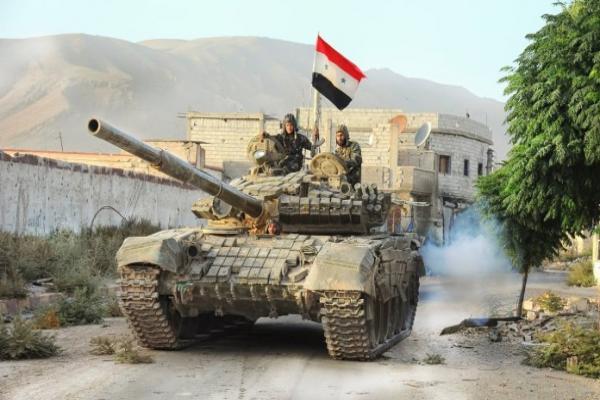 قوات النظام تتقدم باتجاه معرة النعمان وسط قصفٍ كثيف