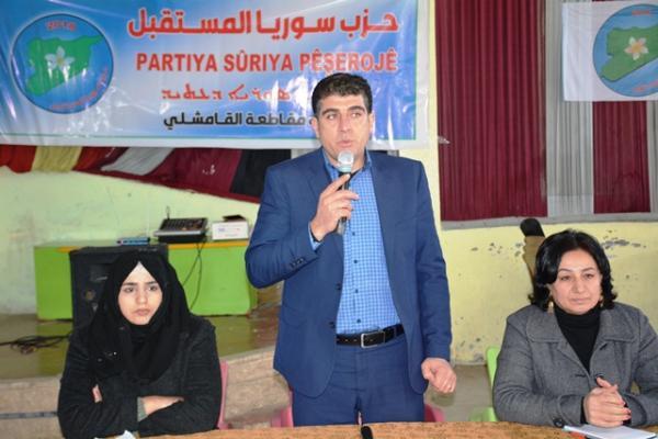 مسؤول في حزب سوريا المستقبل: نسعى لفتح قنوات حوار مع كامل أطياف المعارضة