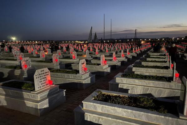 في ذكرى تحرير كوباني، المئات يستذكرون شهداء كانون الثّاني