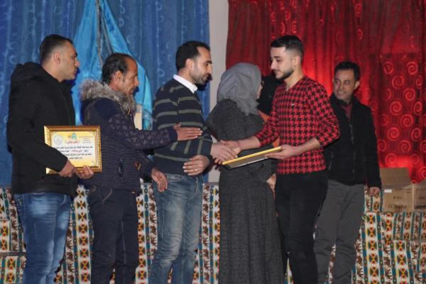 لجنة الثقافة والفن في منبج تكرّم المتخرجين من الدورات الفنية خلال العام المنصرم