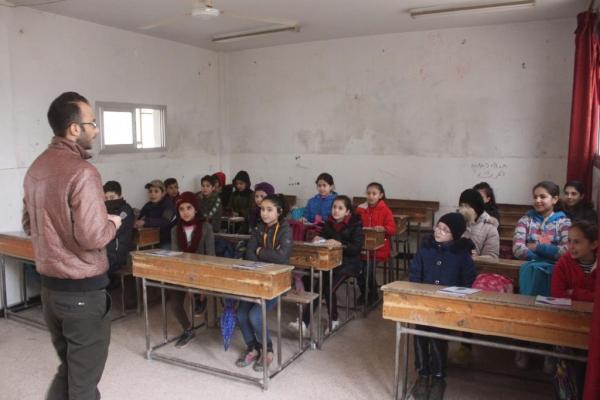 الهجماتُ لم تتمكّن من إيقاف العمليّة التّعليميّة في الدّرباسيّة