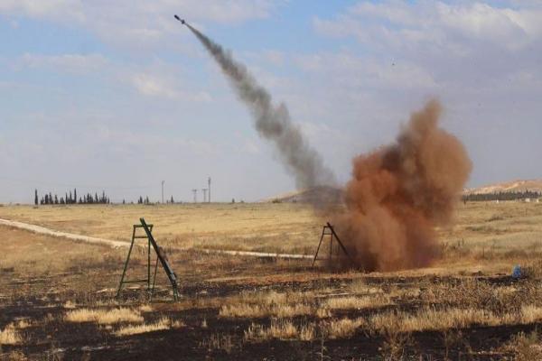 تركيا ومرتزقتها يشنون قصفاً صاروخياً على النيرب تمهيداً لهجوم مرتقب