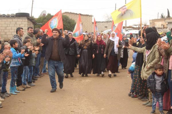 في مراسم العزاء: تضحيات الشهداء وحّدت مكونات المنطقة ضد الاحتلال